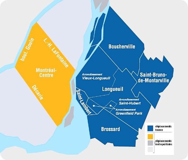 Territoire de Longueuil