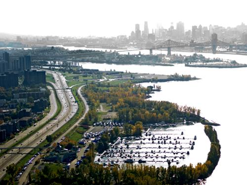parc et voie maritime longueuil